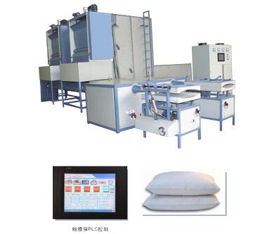 自动化定量枕头生产线